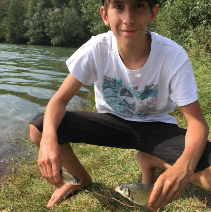 initiation pêche ardèche