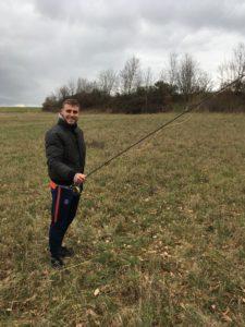 pêche à la mouche initiation louis niveau 1 lancer français