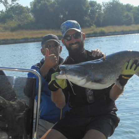 pêche silure avec jean-claude tanzilli